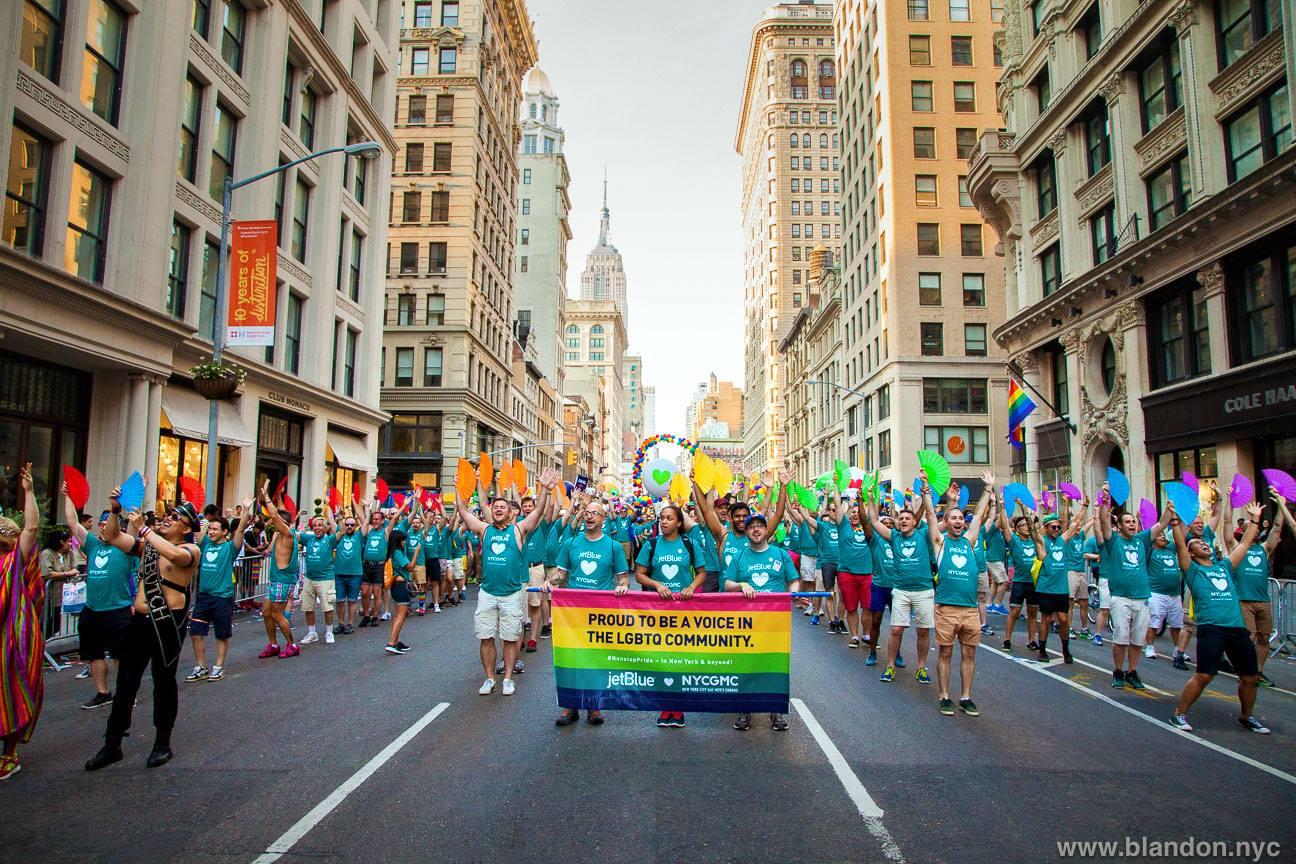 New York City Gay Men's Chorus Pride March