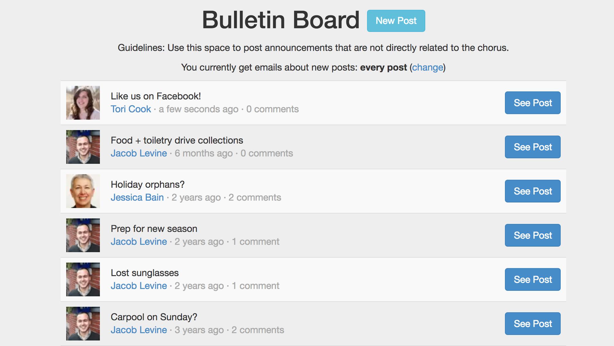 Bulletin Board Marketing