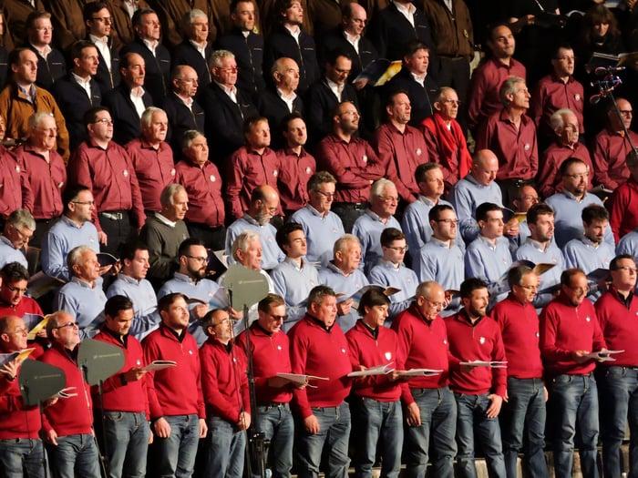 Men's Community Chorus - Rehearsal and Practice