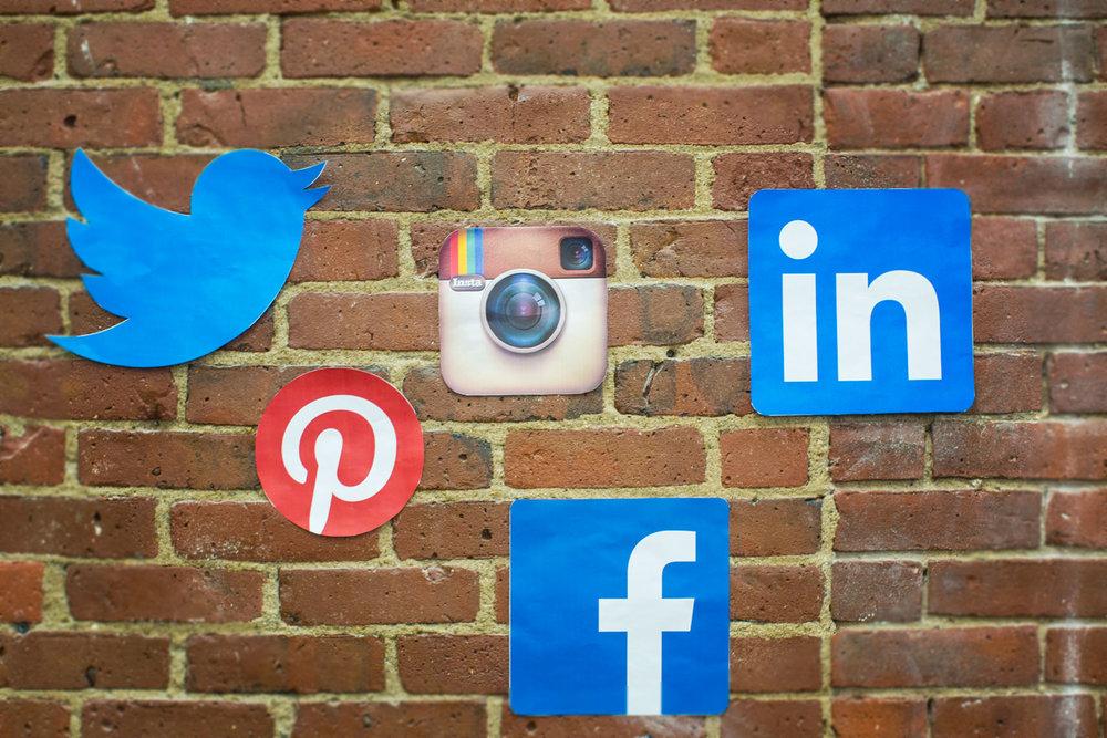 Choir Social Media Management Icons