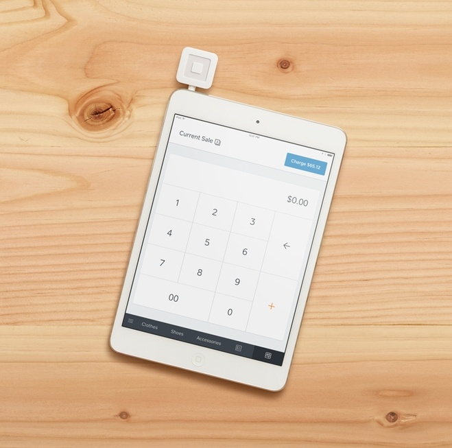 Credit card processor on iPad