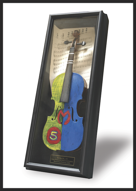 Violins for Choir Fundraiser