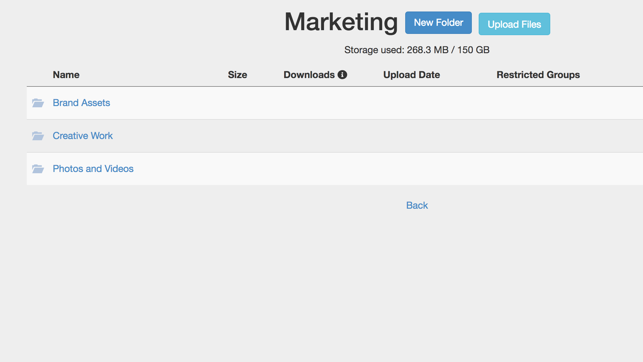 Marketing Files