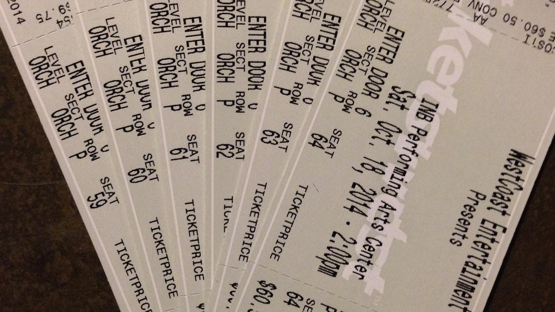 Choir Concert Tickets