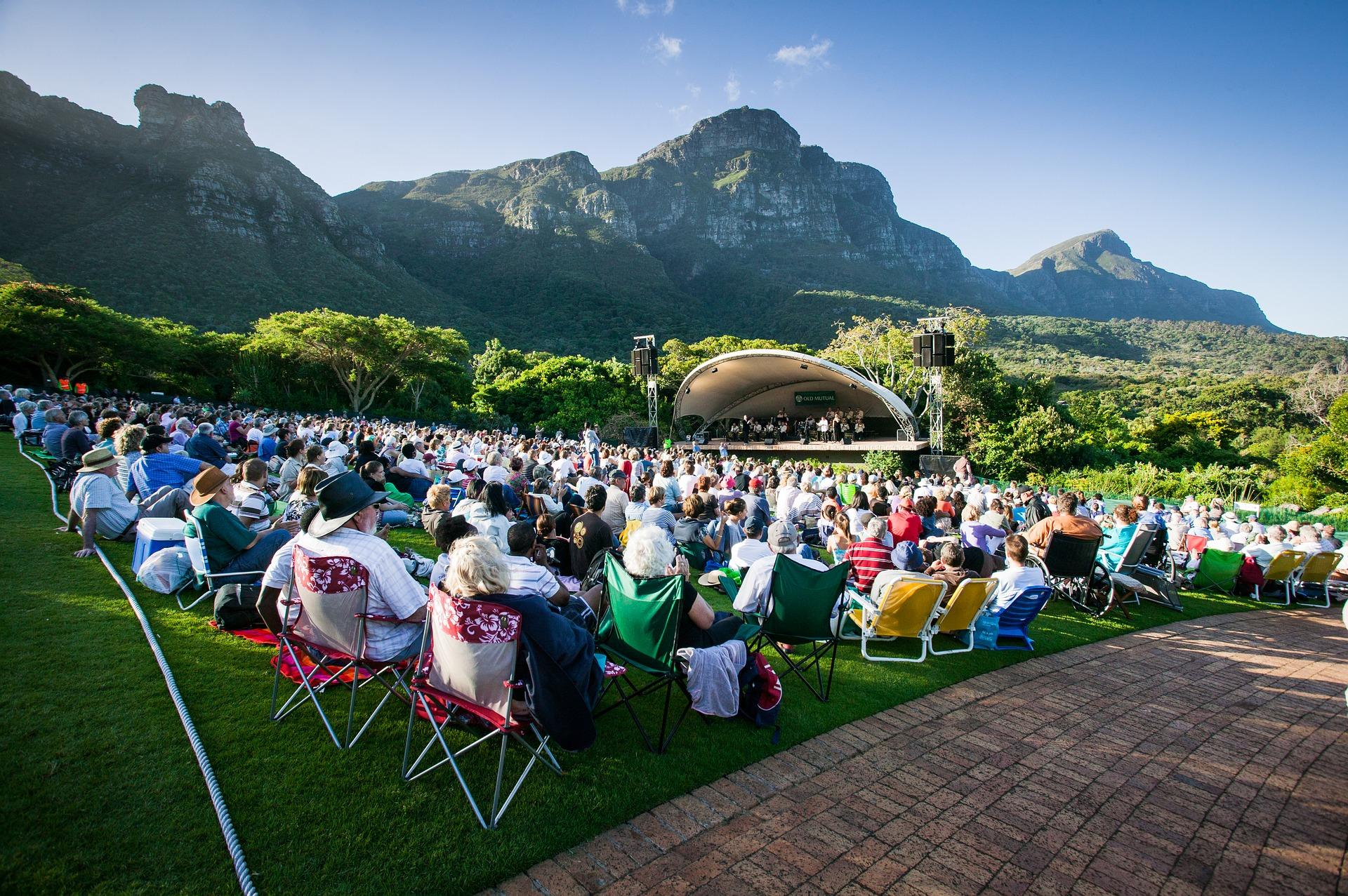 Outdoor Concert - Vibrant Arts Community
