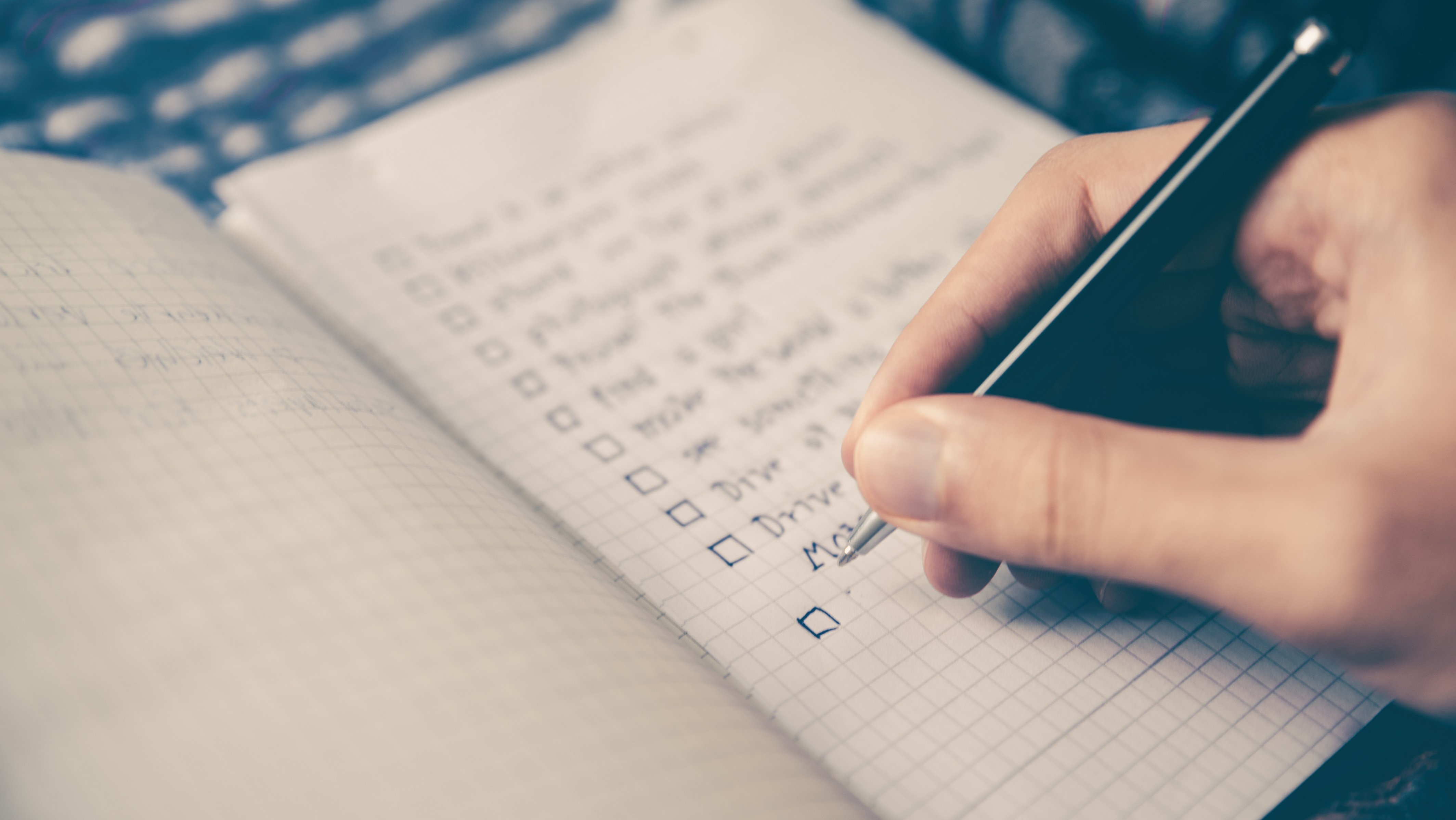 checklist for chorus concerts