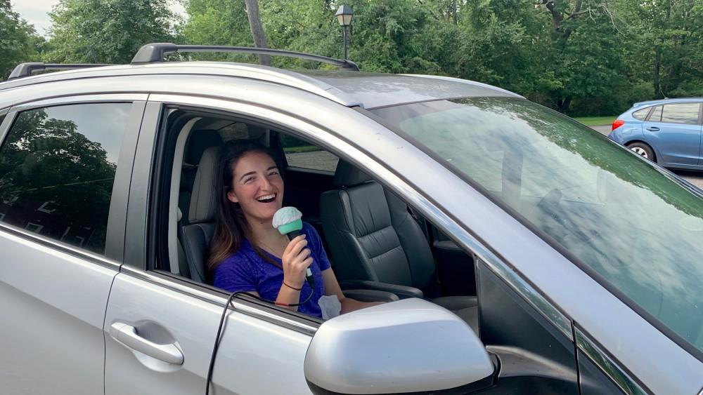 drive-in choir singer