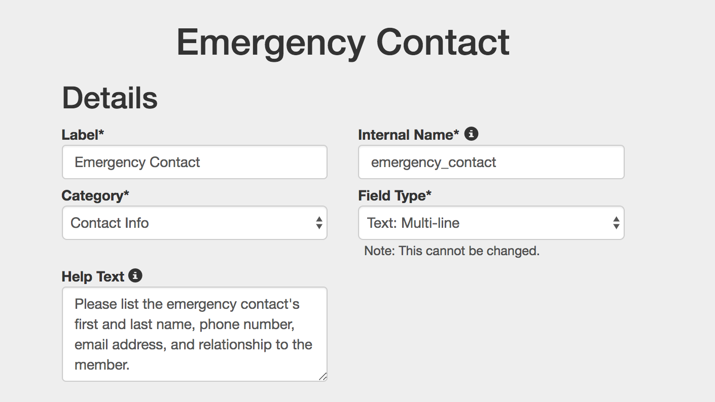 emergency contact 2
