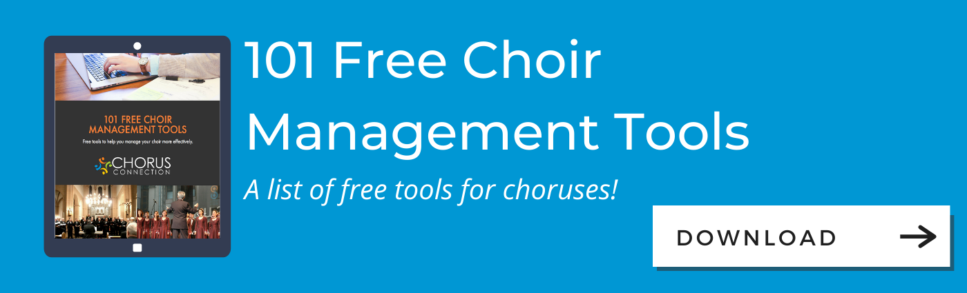 101 Free Choir Management Tools